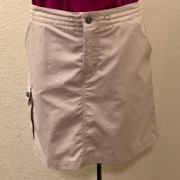 Patagonia Dresses & Skirts - Patagonia khaki skirt with shorts underneath